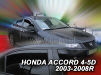 Deflektory HONDA ACCORD   5d  2003-2008r. (+zadné) SEDAN