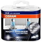OSRAM H4 Night Breaker Unlimited Box 2ks