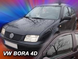 Deflektory VW BORA   4dv. od 1998 do 2005